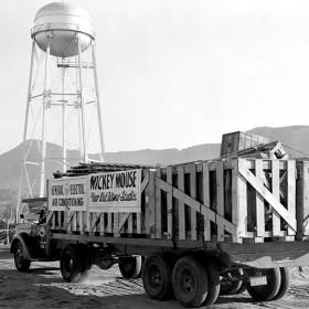 Walt Disney Studios Burbank Location in 1930s
