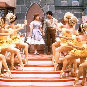 photo of original debut of Babes in Toyland at Walt Disney's Wonderful World of Color