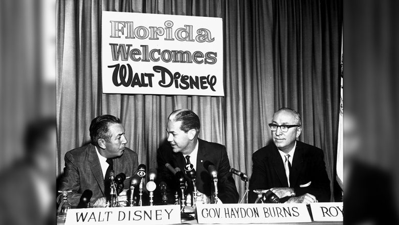 Walt and Roy Disney discuss the Florida Project
