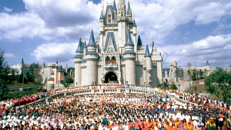 Unofficial opening day of Walt Disney World Resort