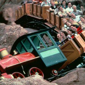 Big Thunder Mountain Railroad Disney World