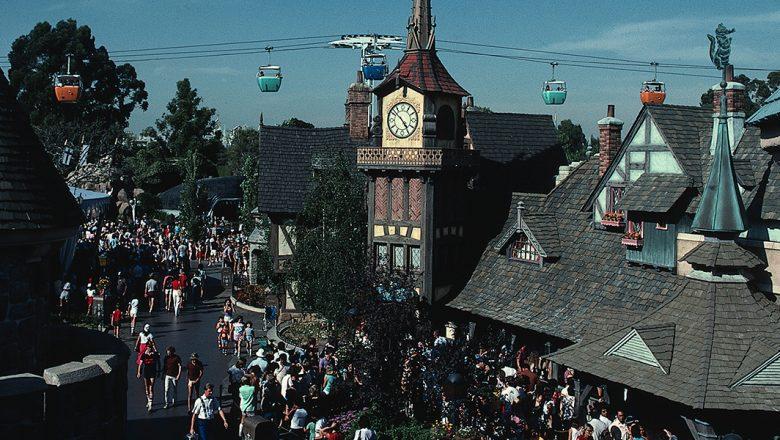 New Fantasyland at Disneyland