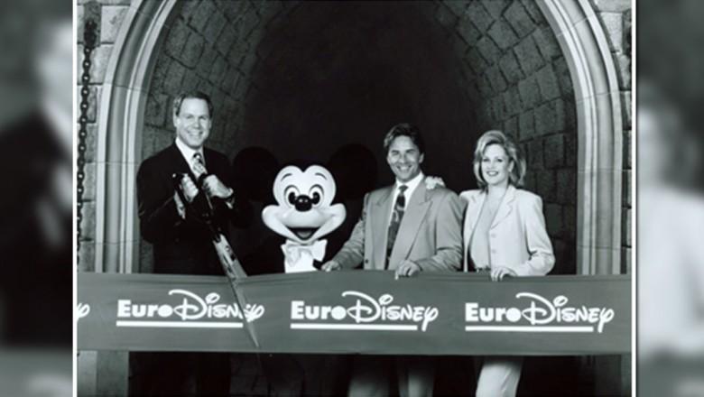 Grand opening of Euro Disney