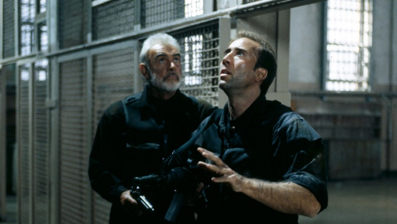 Sean Connery and Nicholas Cage in The Rock