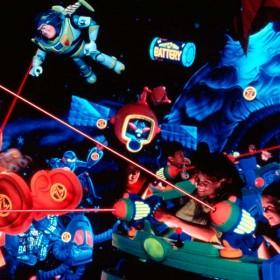 Buzz Lightyear Space Ranger Disneyland Attraction