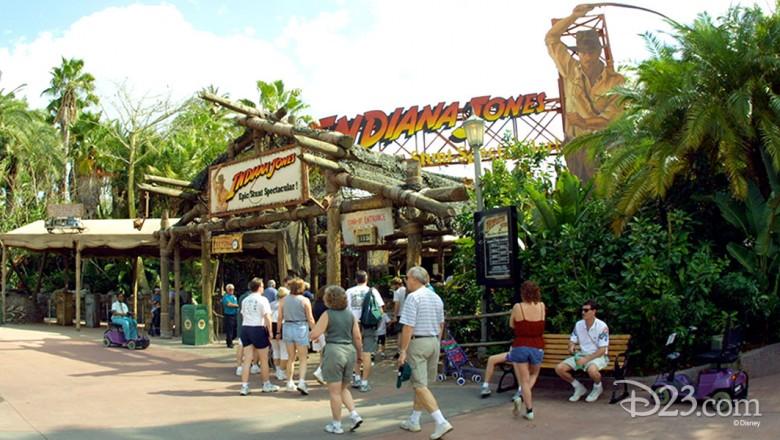Indiana Jones™ Epic Stunt Spectacular! Opens at Disney-MGM Studios - D23