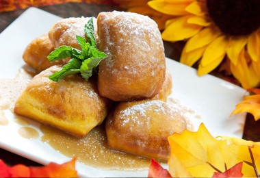 Recipe for Club 33's Pumpkin Beignets