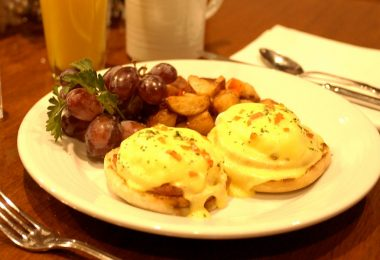 Steakhouse 55's Eggs Benedict