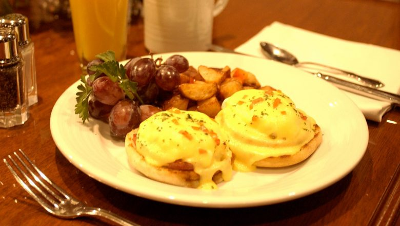 Steakhouse 55's Eggs Benedict