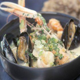 Raglan Road's Duncannon Seafood Chowder