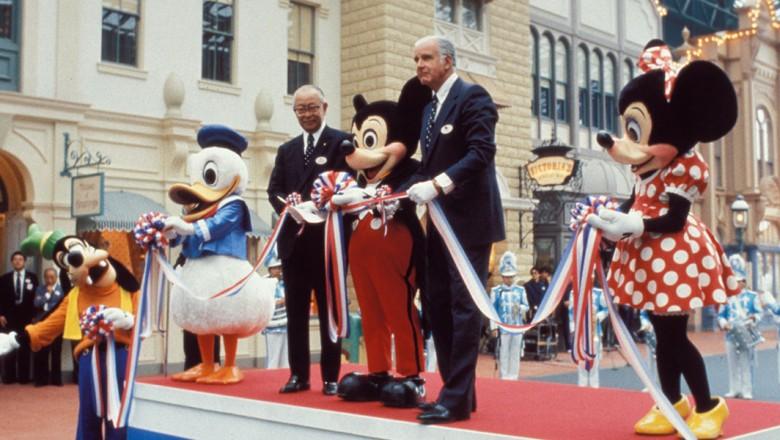 Tokyo Disneyland Opening