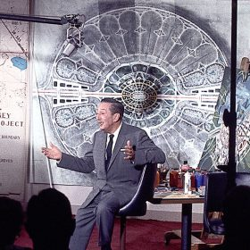 Walt Disney with Epcot