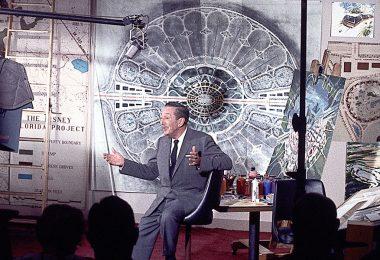 Walt Disney with Epcot