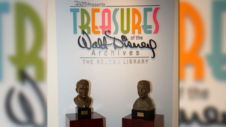 An Inside Look At Treasures Of The Walt Disney Archives At The