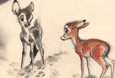 Bambi concept art