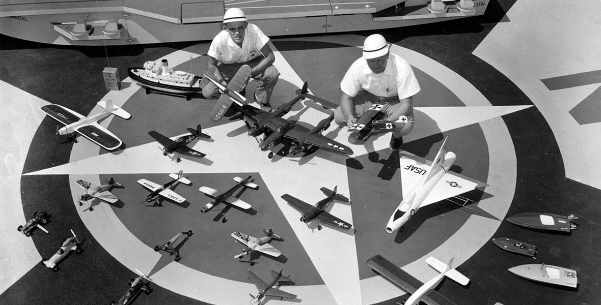 Flight Circle at Disneyland
