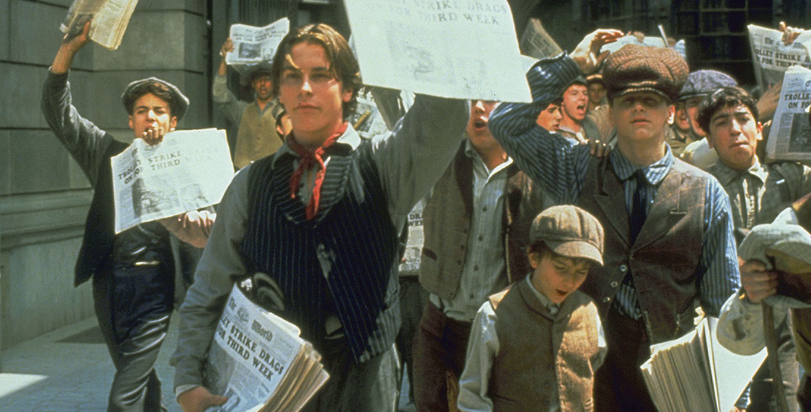 Newsies (film) - D23