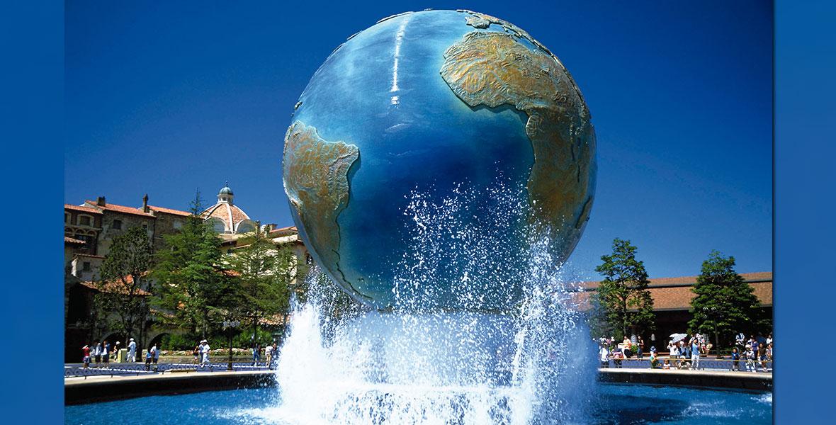Aquasphere at Tokyo DisneySea