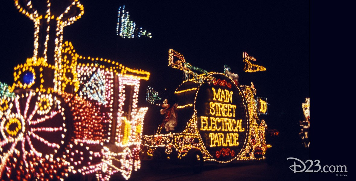 Photo of Main Street Electrical Parade in Disneyland