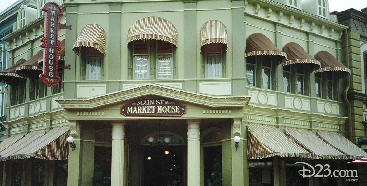 Photo of the Market House at Disneyland