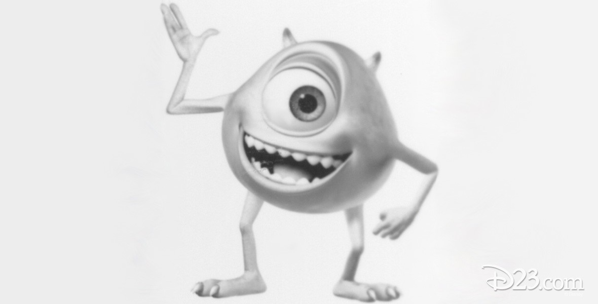 Photo of Mike Wazowski from Monsters Inc.