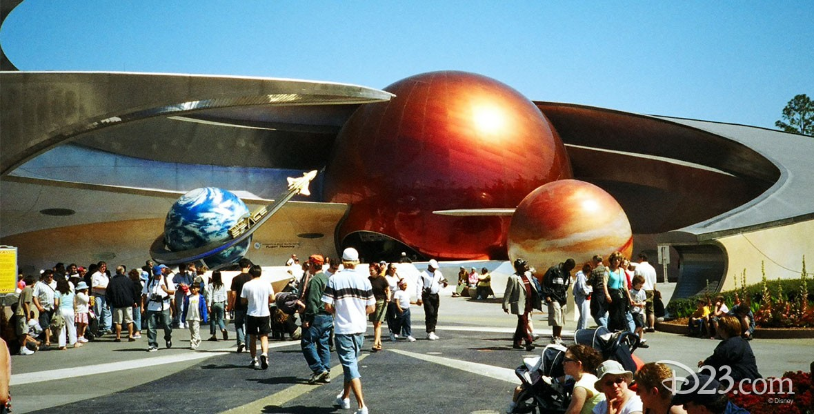 Photo Mission Space at Disneyland
