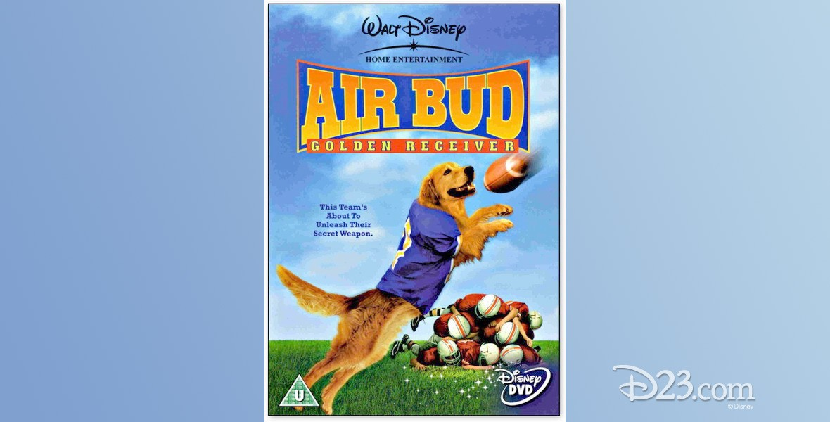 movie one-sheet poster for Air Bud: Golden Receiver
