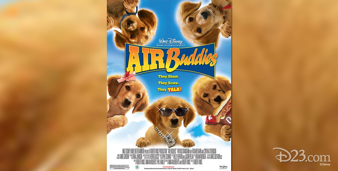 one-sheet movie poster for Air Buddies