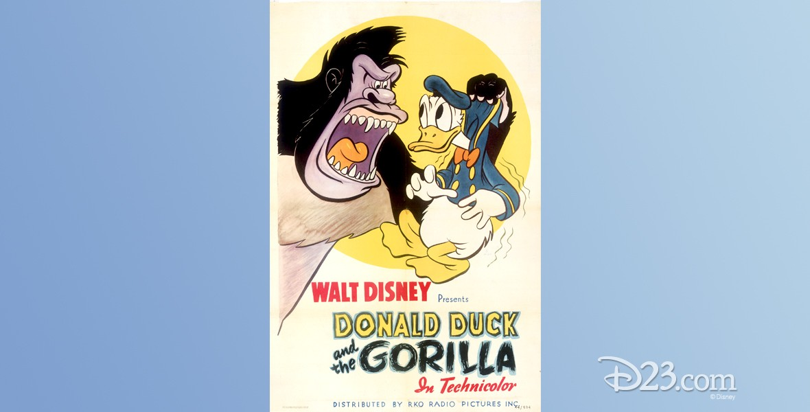 one-sheet movie poster for Ajax featuring Donald Duck
