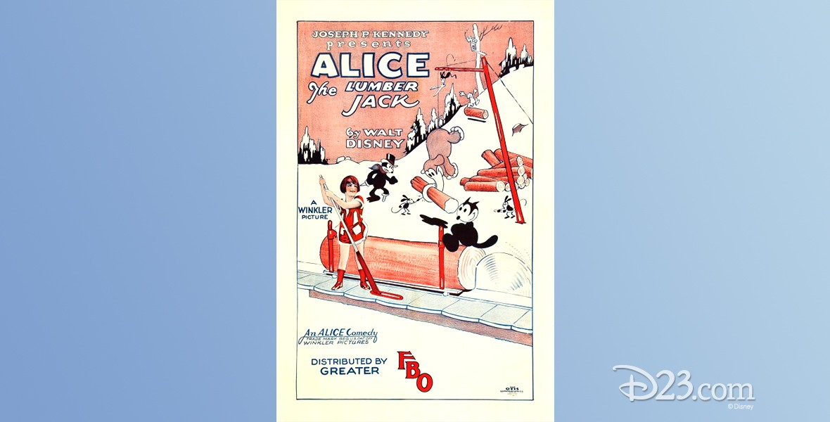 one-sheet movie poster of Alice the Lumber Jack
