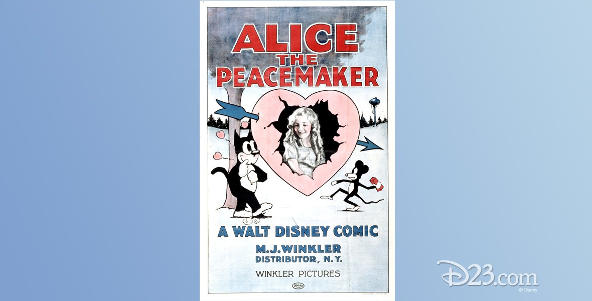 one-sheet movie poster for Alice the Peacemaker