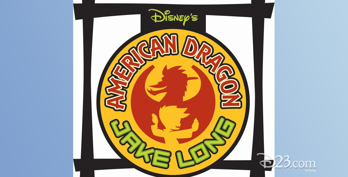 logo / title art for American Dragon: Jake Long