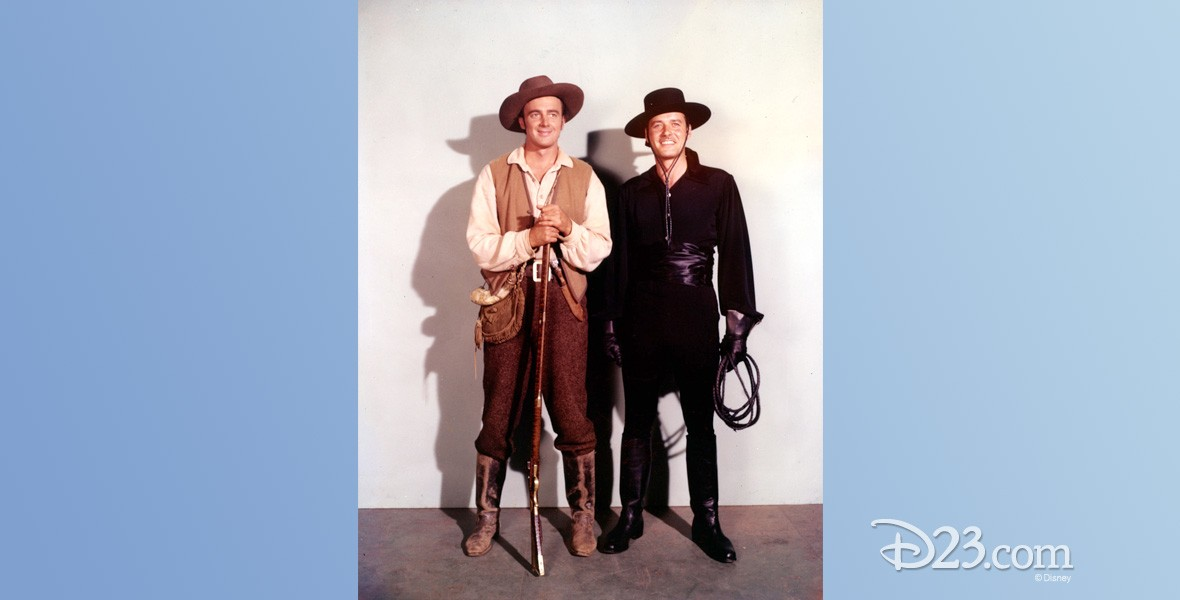 photo of two characters in cowboy costumes