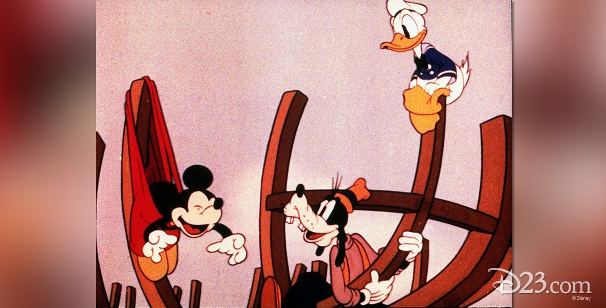 Boat Builders Mickey Mouse cartoon