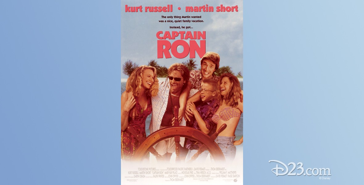 one-sheet movie poster for Captain Ron (film)