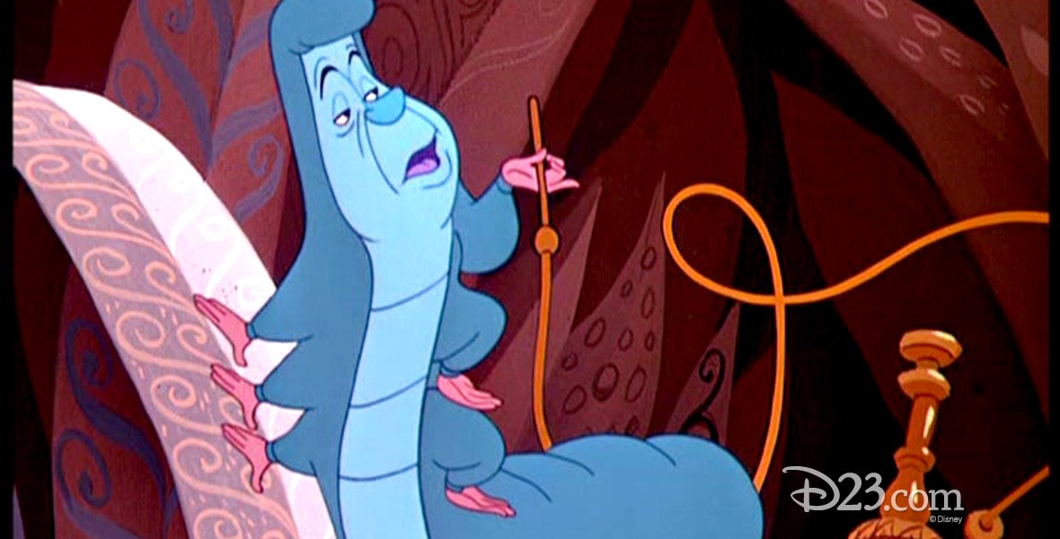 production still from animated movie Alice in Wonderland