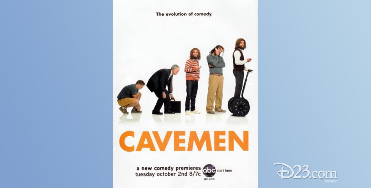 poster for Cavemen (television show on ABC)