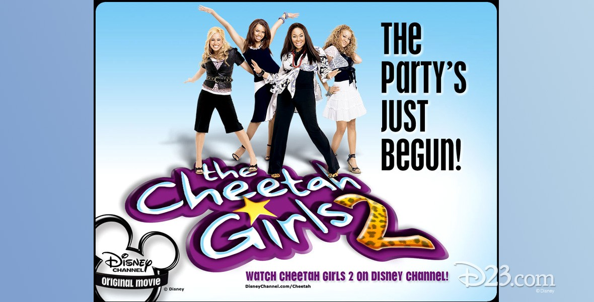 poster for The Cheetah Girls 2