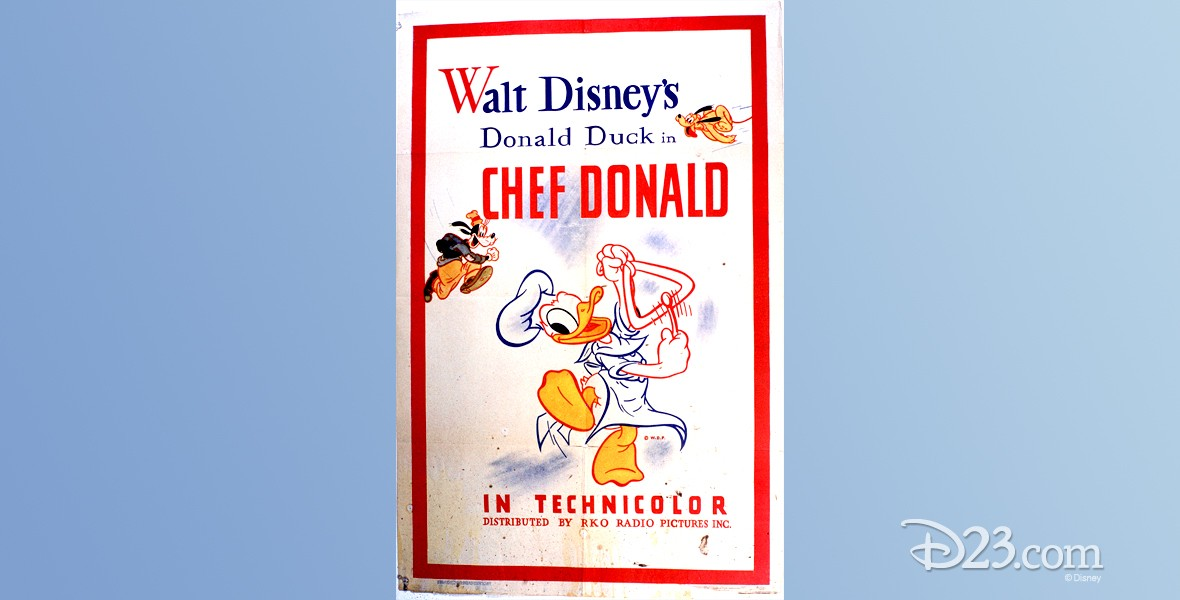 poster for Chef Donald