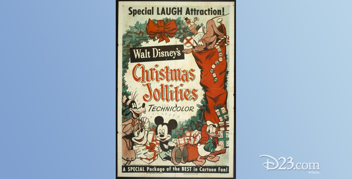 poster for Christmas Jollities (film)