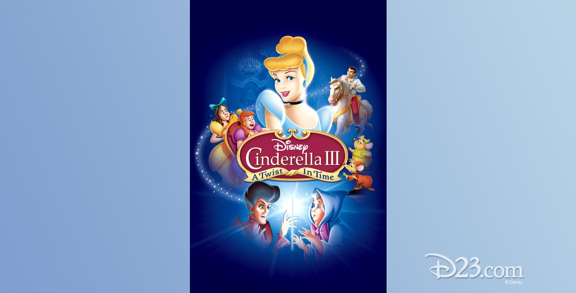 poster for Cinderella III: A Twist in Time