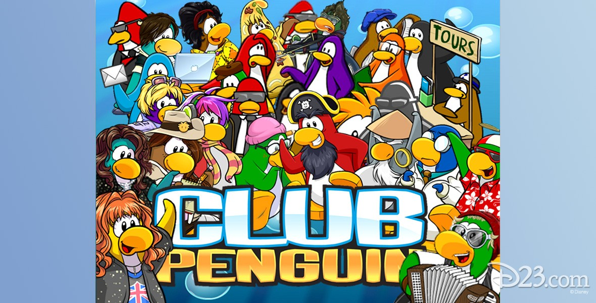 poster art for Club Penguin