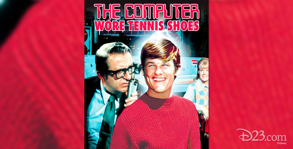 poster for The Computer Wore Tennis Shoes