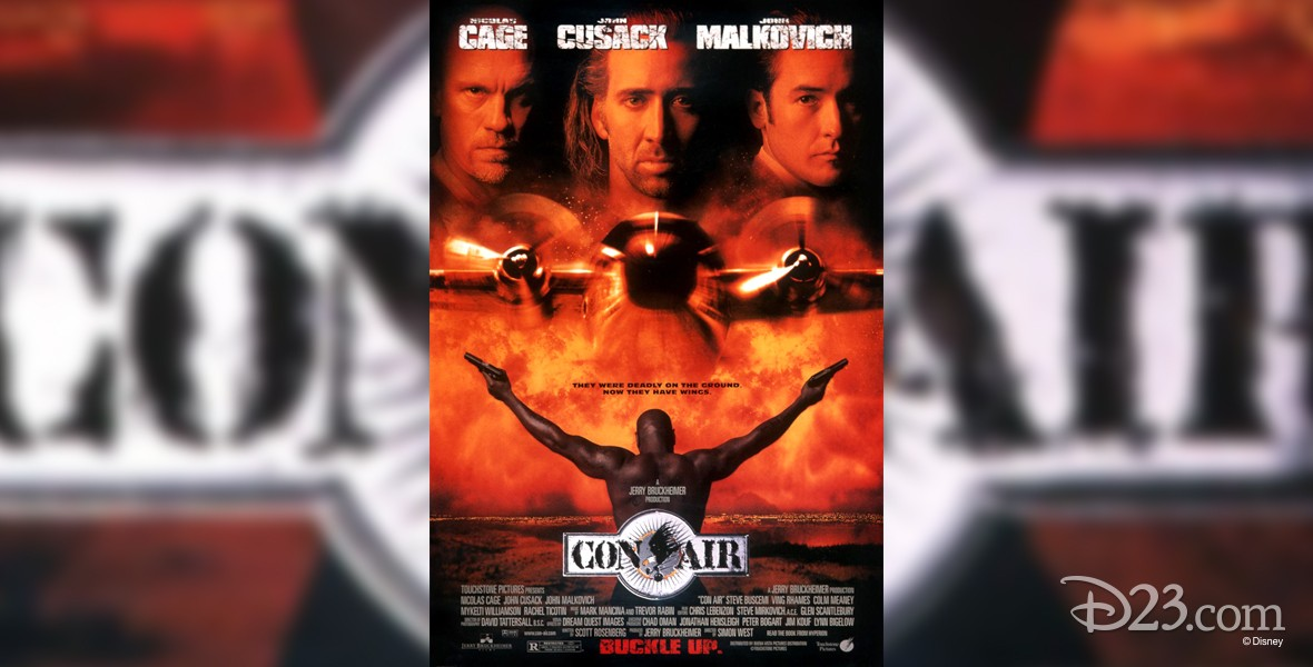 one-sheet movie poster for Con Air