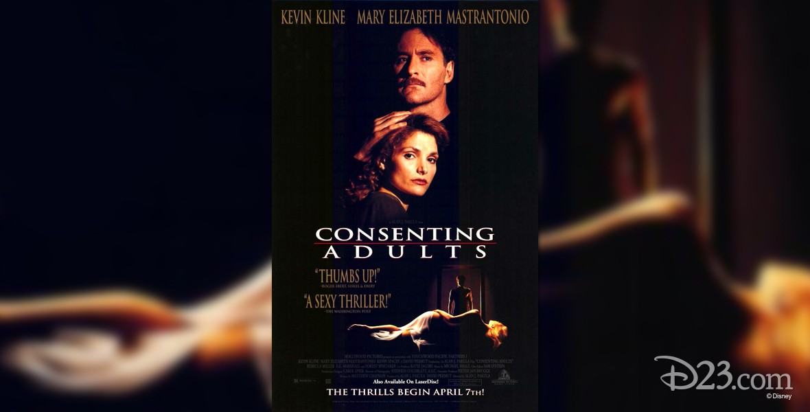 one-sheet movie poster for Consenting Adults (film)