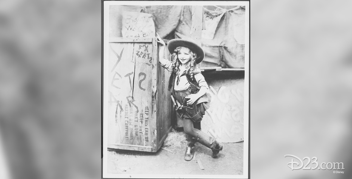 photo of child actress Virginia Davis