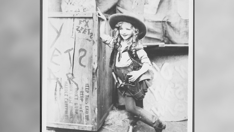 photo of child actress Virginia Davis