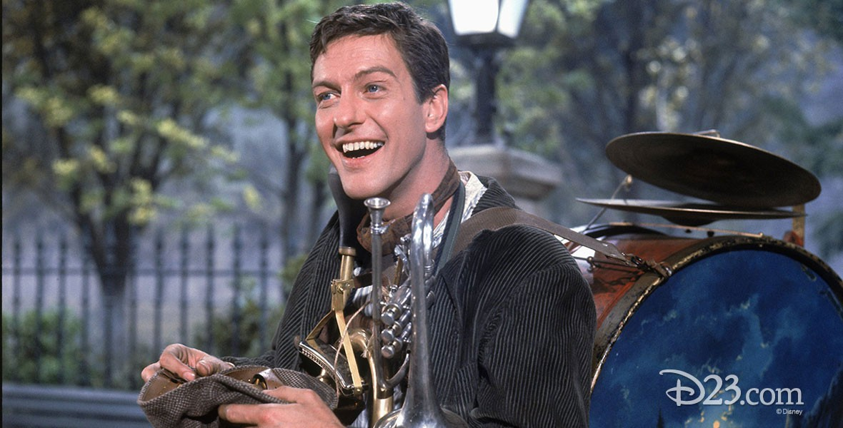 Actor and Disney legend Dick Van Dyke
