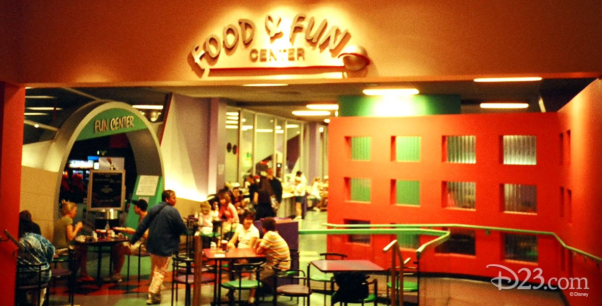 photo of interior of Fiesta Fun Center at Walt Disney World