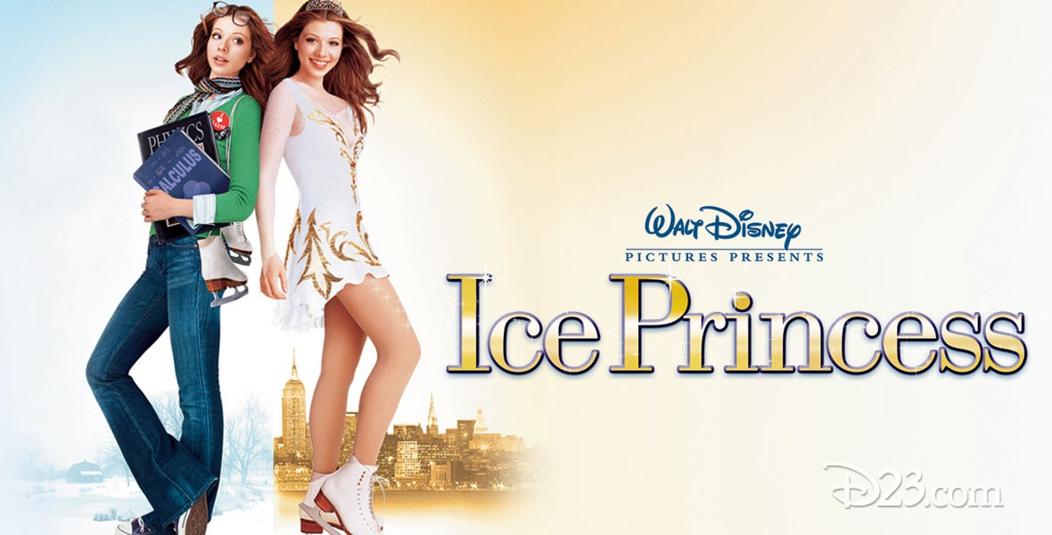 Michelle Trachtenberg of the Disney movie Ice Princess